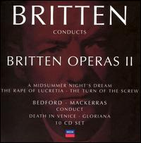 Britten Conducts Britten: Operas 2 - Alan Opie (vocals); Alfred Deller (vocals); Angela Vernon Bates (vocals); Anna Vincent (vocals); Anne Wilkens (vocals);...