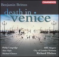 Britten: Death in Venice - Alan Opie (baritone); Alison Place (contralto); Alison Smart (soprano); Andrew Murgatroyd (tenor); Carolyn Foulkes (soprano);...