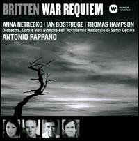 Britten: War Requiem - Accademia di Santa Cecilia Children's Choir; Anna Netrebko (soprano); Ian Bostridge (tenor); Thomas Hampson (baritone);...