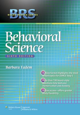 BRS Behavioral Science - Fadem, Barbara