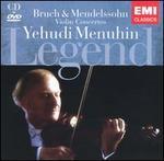 Bruch, Mendelssohn: Violin Concertos [Includes DVD: Rare Performance of Menuhin on Film]