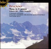 Bruckner: Mass in E minor; Libera me; Aequalis Nos. 1 & 2 - Colin Sheen (trombone); English Chamber Orchestra Wind Ensemble; John Scott (organ); Olga Hegedus (cello);...