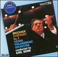 Bruckner: Symphony No. 4 - Vienna Philharmonic Orchestra; Karl B�hm (conductor)
