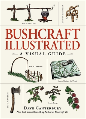 Bushcraft Illustrated: A Visual Guide - Canterbury, Dave