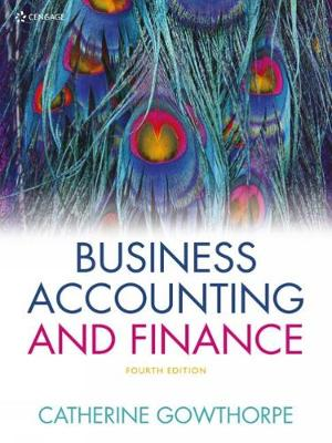 Business Accounting & Finance - Gowthorpe, Catherine