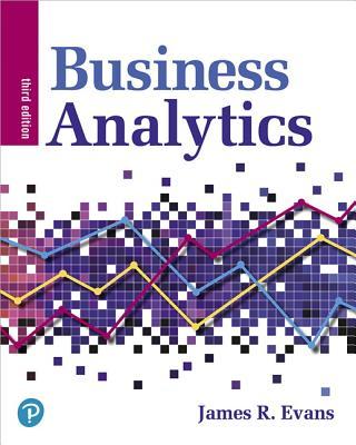 Business Analytics - Evans, James