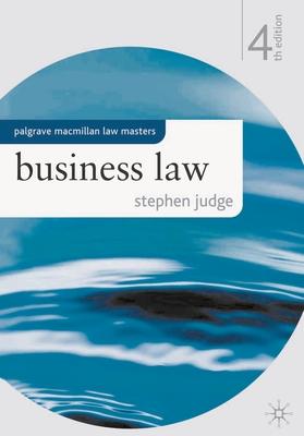 Business Law - Judge, Stephen