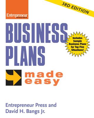 Business Plans Made Easy - Entrepreneur Press