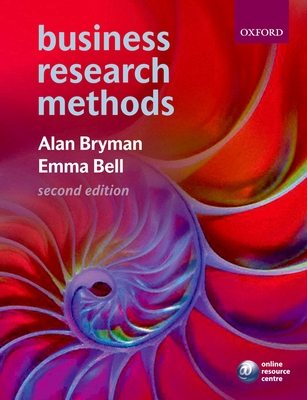 bryman and bell research methods By alan bryman, edward bell | read reviews social research methods (canadian edition) social research methods features exciting new boxed material.