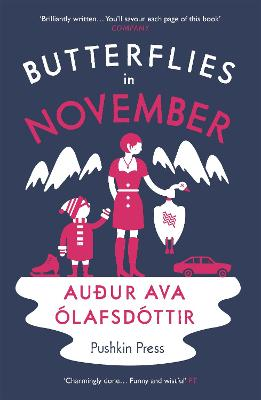 Butterflies in November - Olafsdottir, Audur Ava, and Fitzgibbon, Brian (Translated by), and Burton, Nathan (Designer)