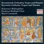 Byzantine Orthodox Vespers And Matutin