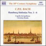 C.P.E. Bach: Hamburg Sinfonias Nos. 1-6