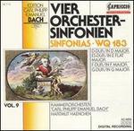C.P.E. Bach: Sinfonias, WQ 183