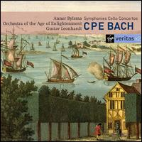 C.P.E. Bach Symphonies and Cello Concertos - Anner Bylsma (cello); Orchestra of the Age of Enlightenment; Gustav Leonhardt (conductor)