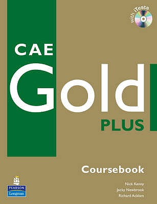CAE Gold Plus Coursebook, CD ROM Pack - Kenny, Nick, and Newbrook, Jacky