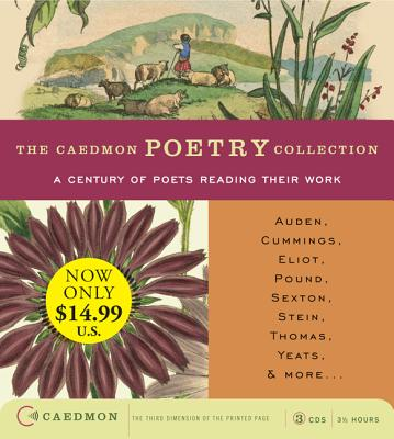 Caedmon Poetry Collection: A Century of Poets Reading Their Work Low-Price CD -