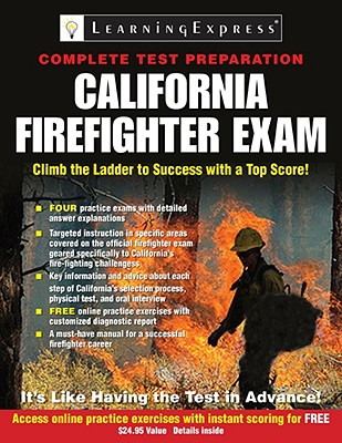 California Firefighter Exam Book By Learningexpress Llc 1
