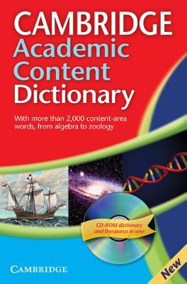 Cambridge Academic Content Dictionary Reference Book - Cambridge University Press (Creator)