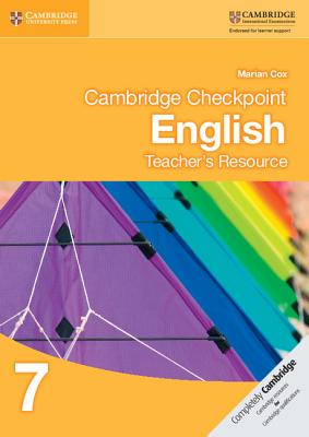 Cambridge Checkpoint English Teacher's Resource 7 - Author: Marian Cox