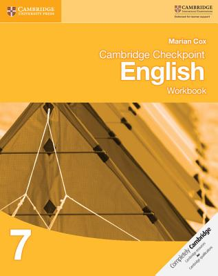 Cambridge Checkpoint English Workbook 7 - Cox, Marian