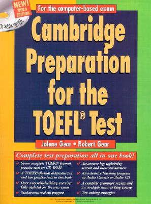 Cambridge Preparation for the Toefl(r) Test Book - Gear, Jolene, and Gear, Robert