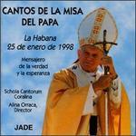 Cantos de la Misa del Papa