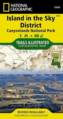 Canyonlands - Island in the Sky District - Rand McNally, and National Geographic Maps