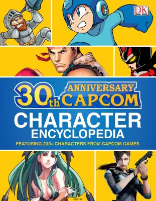 Capcom 30th Anniversary Character Encyclopedia - BradyGames