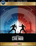Captain America: Civil War [SteelBook] [Blu-ray] [Only @ Best Buy] - Anthony Russo; Joe Russo