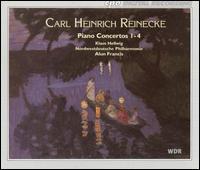 Carl Heinrich Reinecke: Piano Concertos Nos. 1-4 - Klaus Hellwig (piano); Nordwestdeutsche Philharmonie; Alun Francis (conductor)