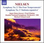 "Carl Nielsen: Symphonies Nos. 2 ""The Four Temperaments"" & 3 ""Sinfonia espansiva"""