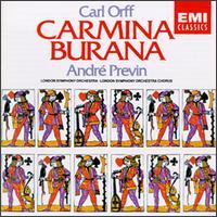Carl Orff: Carmina Burana - Gerald English (tenor); Sheila Armstrong (soprano); Thomas Allen (vocals);...