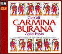 Carl Orff: Carmina Burana - Gerald English (tenor); Sheila Armstrong (soprano); Thomas Allen (baritone);...