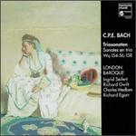 Carl Philipp Emanuel Bach: Trio Sonatas