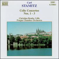 Carl Stamitz: Cello Concertos Nos. 1-3 - Christian Benda (cello); Prague Chamber Orchestra; Christian Benda (conductor)