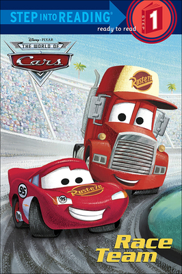 Cars Race Team - Shealy, Dennis R, and Disney Storybook Artists (Illustrator)