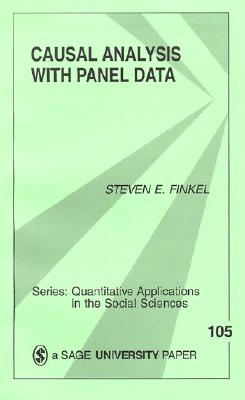 Causal Analysis with Panel Data - Finkel, Steven Eric