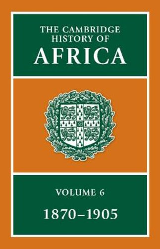 The Cambridge History of Africa by Roland Oliver: New