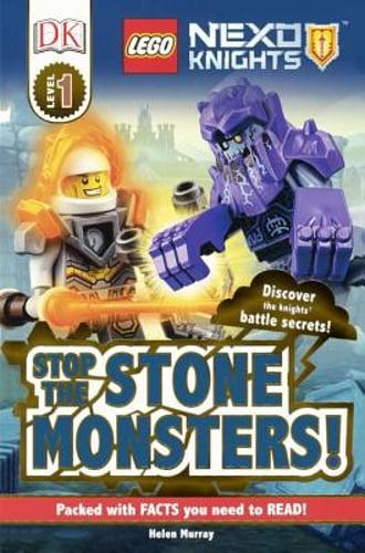 lego nexo knights stop the stone monstershelen