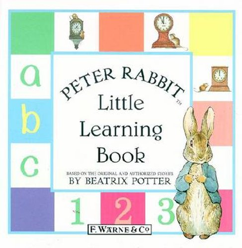 Peter-Rabbit-Little-Learning-Book-by-Beatrix-Potter-Used