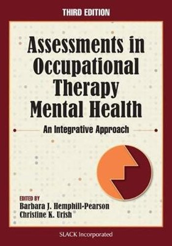 Assessments In Occupational Therapy Mental Health  An