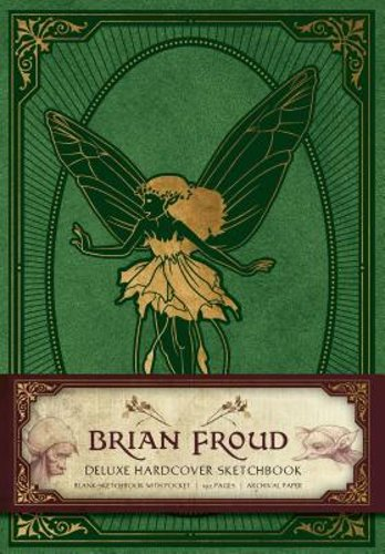 Brian Froud Deluxe Hardcover Sketchbook by Insight