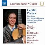 Cecilio Perera: First Prize 2011 Michele Pittaluga Guitar Competition