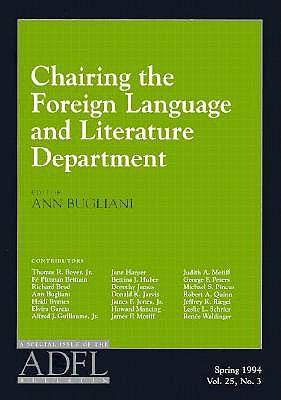 Chairing the Foreign Langu - Bugliani, Ann (Editor)