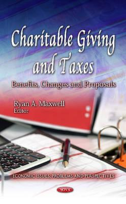 Charitable Giving & Taxes - Maxwell, Ryan A