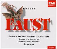 Charles Gounod: Faust - Boris Christoff (bass); Ernest Blanc (baritone); Liliane Berton (soprano); Nicolai Gedda (tenor); Rita Gorr (mezzo-soprano);...