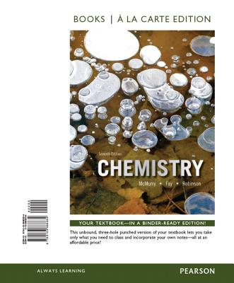 Chemistry, Books a la Carte Plus Masteringchemistry with Etext -- Access Card Package - McMurry, John E, and Fay, Robert C, and Robinson, Jill Kirsten