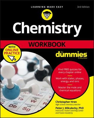 Chemistry Workbook for Dummies - Hren, Chris