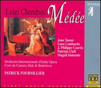 Cherubini: Médée - Iano Tamar (vocals); Jean-Philippe Courtis (vocals); Luca Lombardi (vocals); Magali C. Damonte (vocals); Mariagrazia Pani (vocals); Patrizia Ciofi (vocals); Rosanna Casucci (vocals); Bratislava Sluk Chamber Choir (choir, chorus)