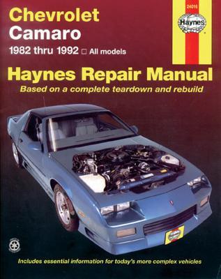 Chevrolet Camaro, 1982-1992 - Haynes, John